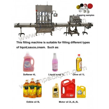 Automatic Motor/Engine Oil Filling Machine for sale