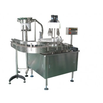 Automatique Rotary machine de capsulage