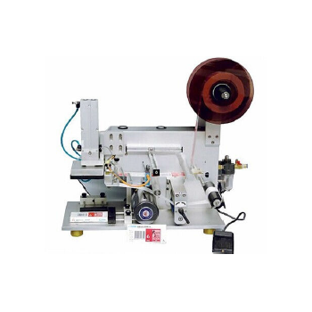 Semi-Automatic Square Bottle Labeling Machine