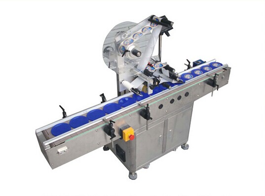 Top Side Sticker Labeling Machine