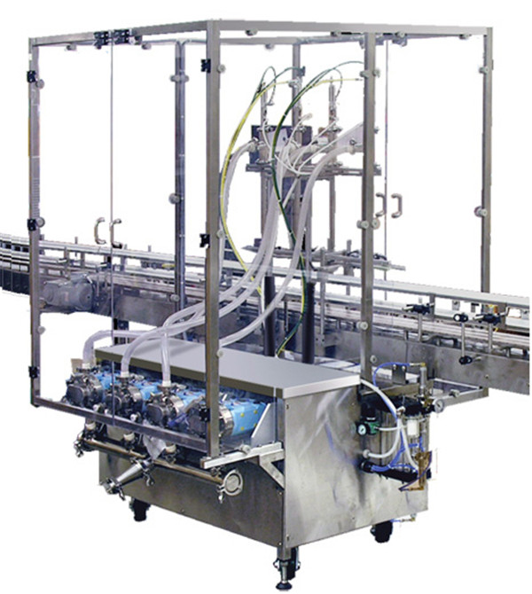 Shanghai Factory Syrup Peristaltic Pump Filling Machine - NPACK