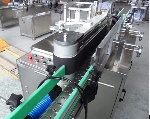 Automatic round bottle wet glue labeling machine