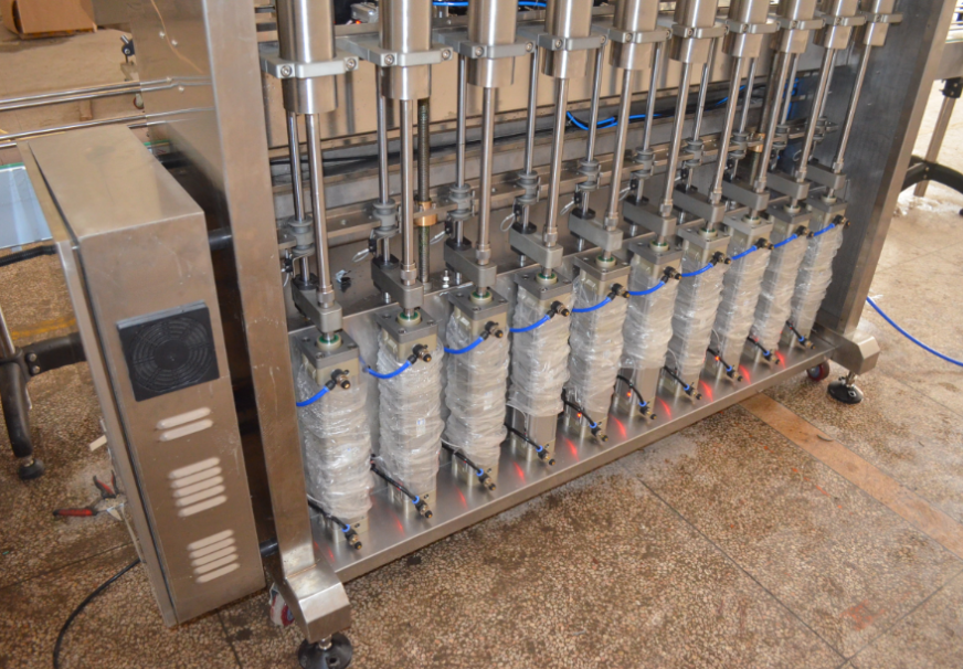 pneumatic piston filling system